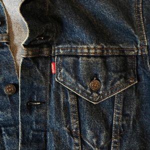 Vintage Levis S/M Jean Denim jacket